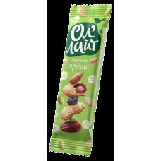 Батончик фруктово-ореховый ОлЛайт арахисовый 30г Bionova