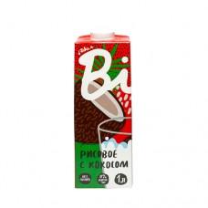 Растительное молоко Рисовое с Кокосом пастеризованное, 1л., Bite