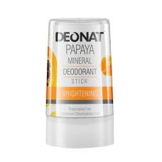 Дезодорант-кристалл с экстрактом  Папайи, 60гр. DeoNat