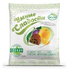 Конфеты чернослив с апельсином в шоколадной глазури 210г  Di&Di