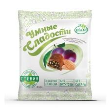 Конфеты чернослив с миндалем в шоколадной глазури 210г Умные сладости Di&Di
