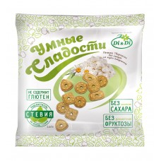 Печенье Творожное из муки амаранта без сахара 160г  Умные сладости Di&Di