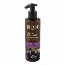 Бальзам для волос Кератиновый  для восстановления и роста, 200 мл, EcoLab