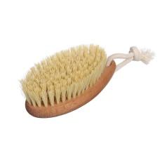 Щетка для сухого массажа маленькая без ручки из натуральной щетины Кактуса