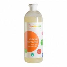 """Гель для мытья полов """"Свежий Апельсин"""" 1000 мл., Freshbubble"""