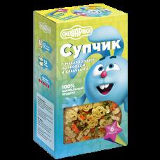 Смешарики Супчик  с макарошками, морковкой и кабочками  160г., Гурмайор