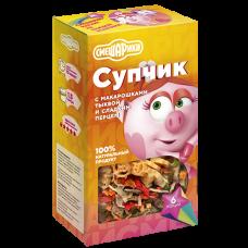 Смешарики Супчик  с макарошками, тыквой и сладким перцем  160г., Гурмайор
