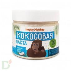 Кокосовая паста Манна из мякоти кокоса  330г., Happy Monkey