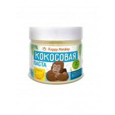 """Кокосовая паста """"С бананом""""  330г., Happy Monkey"""