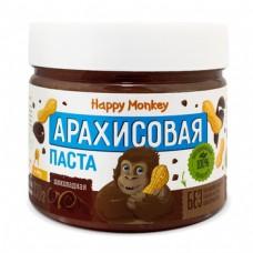 """Арахисовая паста ''Шоколадная""""  330г., Happy Monkey"""