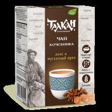 """Чай кочевника """"Талкан""""напиток с анисом и мускатным орехом,150.,Компас Здоровья"""