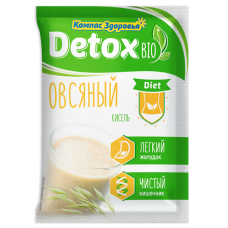 Кисель detox bio Diet Овсяный 25г.,Компас Здоровья