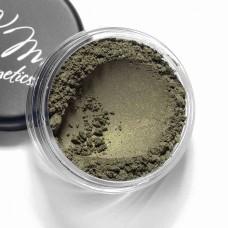 Тени для глаз Коллекция Золотые пески ES404 Папоротниково-зеленый, KRISTALL MINERALS