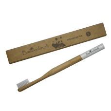 Зубная щетка из бамбука, средняя жесткость, Bamboobrush