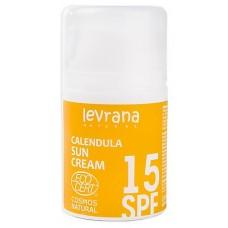 Крем для лица КАЛЕНДУЛА 15SPF с матирующим эффектом, 50мл, ТМ Levrana