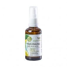 Пилинг для лица с АНА кислотами, для нормальной и смешанной кожи 50 мл., OrganicZone