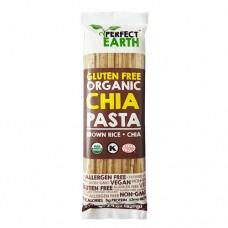 Рисовая лапша Коричневый рис c семенами чиа, 225г.,Perfect Earth