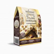 Набор для приготовления шоколада Белый шоколад 300г, Polezzno