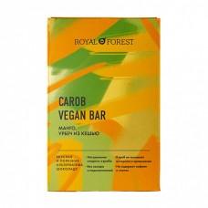 Шоколад из кэроба, манго, урбеч из кешью VEGAN 50 гр Royal Forest