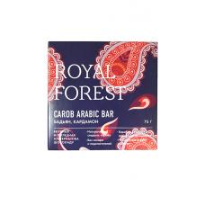 Шоколад из кэроба с бадьяном и кардамоном 75 гр Royal Forest