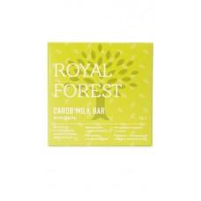 Шоколад из кэроба с миндалем 75 гр Royal Forest