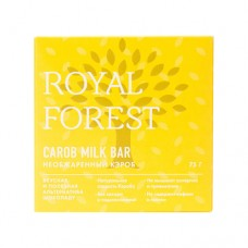 Шоколад из кэроба необжаренный  75 гр Royal Forest
