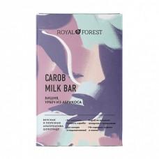 Шоколад из кэроба, вишня, урбеч абрикосовый  50 гр Royal Forest