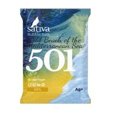 Пена для ванны Дикий пляж Средиземноморья, 15 г. Sativa
