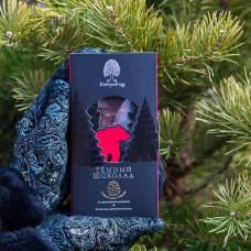 Шоколад темный с  клюквой и кедровым орехом 100г., Сибирский кедр