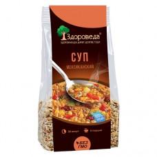 Суп Мексиканский  с рисом и кукурузой ,  250г., Здороведа