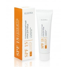 Солнцезащитный крем для лица SPF 15 (7,7) 30 мл Kleona