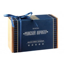 "Коробка подарочная 16*11*6 ""Мужской характер"", Kleona"