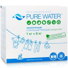 Стиральный порошок,1 кг Pure Water