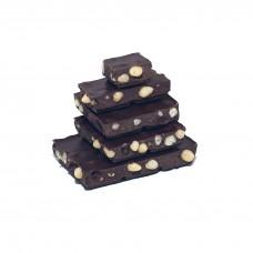Шоколад молочный, 54% какао, на меду, с кедровым орехом 50гр., Мастерская Добро