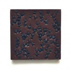 Шоколад молочный, 54% какао, на меду, с дикой черникой  50гр., Мастерская Добро