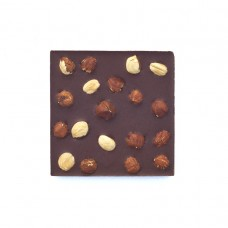Шоколад молочный, 54% какао, на меду, с фундуком 50гр., Мастерская Добро