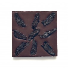 Шоколад молочный, 54% какао, на меду, с черносливом и бадьяном 50гр., Мастерская Добро